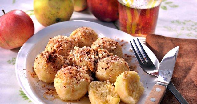 Hitri jabolčni cmoki