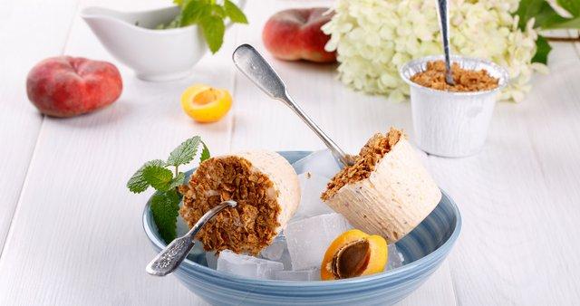 Marelični ledeni jogurt