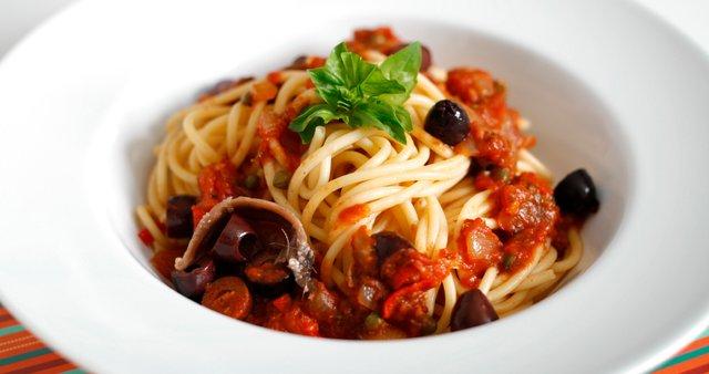 špageti alla puttanesca