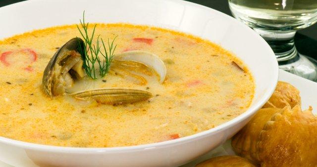 Školjčna juha
