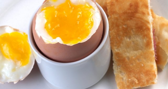 Mehko kuhano jajce