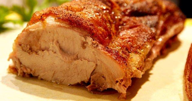 Pečeno svinjsko pleče