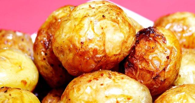 Hrustljavi mlad krompirček