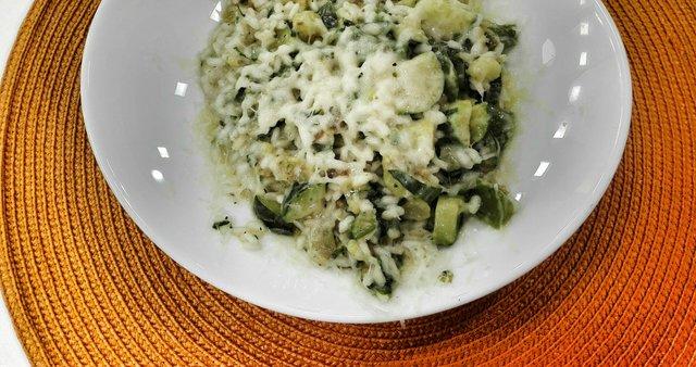 Zelenjavna rižota