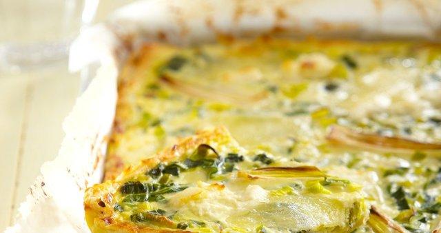 Pomladna pita s sirom