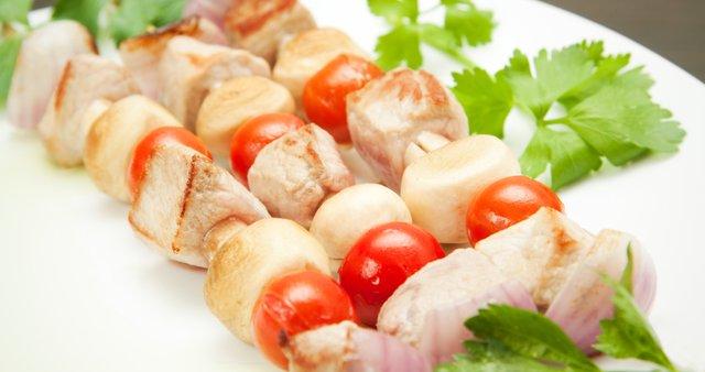 Piščančji šiškebab