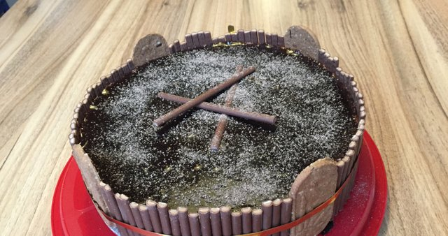 Čokoladno-skutna torta