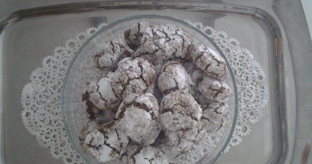 Čokoladni piškoti gumbki