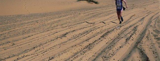 Slovenec na maratonu po puščavi - 3