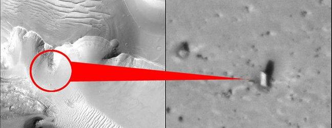 Presenetljiv objekt na Marsu - 1