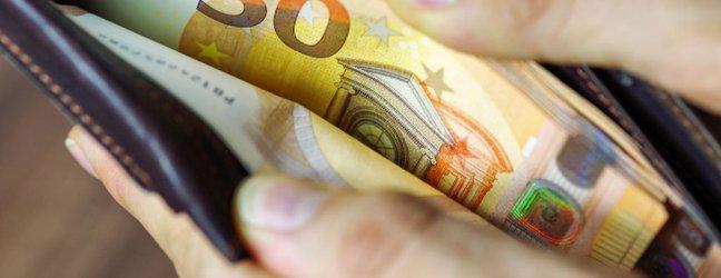 Denarnica z evri