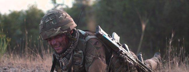 vojak bojišče