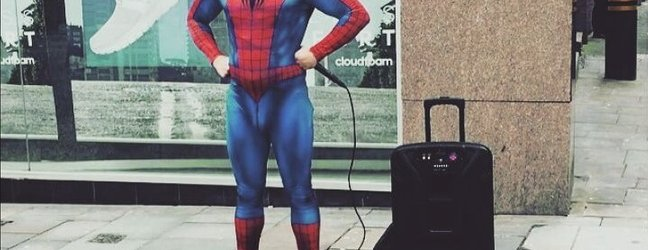 Spiderman, ki beatboxa