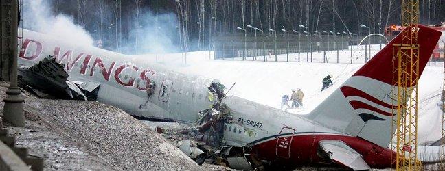 Strmoglavilo rusko letalo