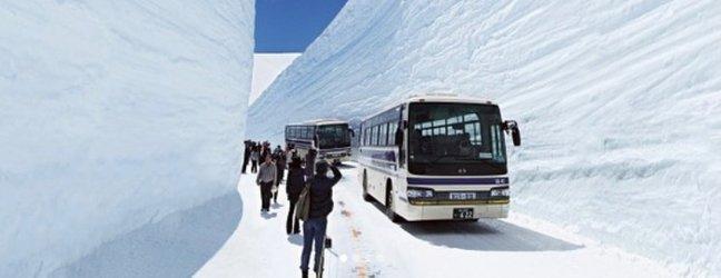 Alpska pot Tateyama Kurobe