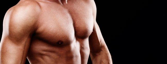 moške prsne mišice
