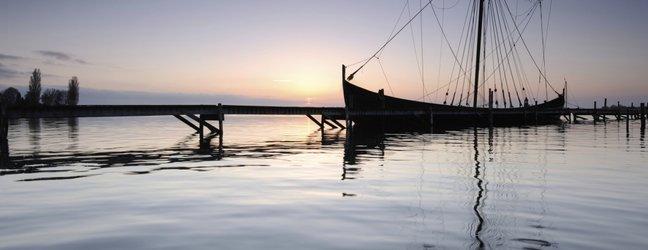 Vikinška ladja na Danskem