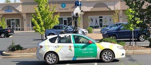 Googlov street view avtomobil.naslovna
