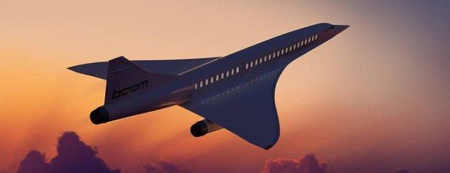 Supersonično letalo Boom