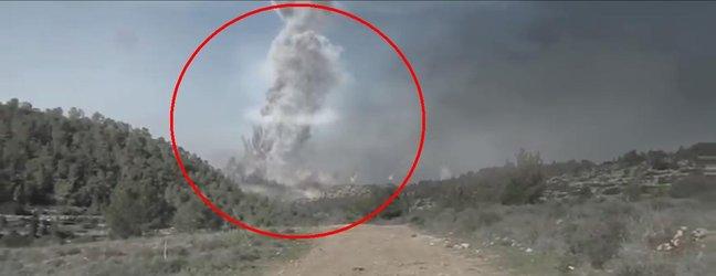 Apokaliptičen video iranskega jedrskega napada na Izrael. - 2