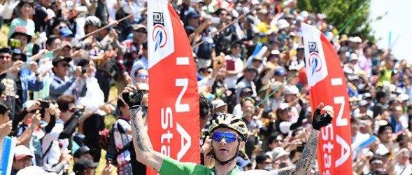 Slovenski kolesar Grega Bole-naslovnica