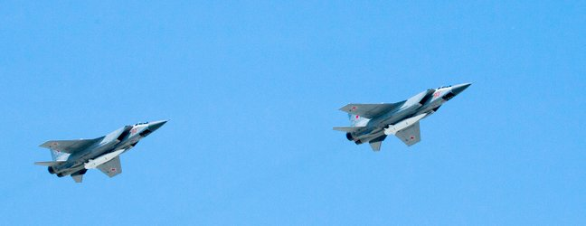 MiG-31K s Kh-47M2 Kinzhal