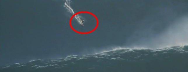VIDEO: Neverjetno! Deskar izzval smrtonosen val