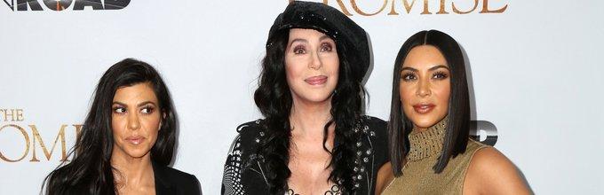 Kim Kardashian in Cher