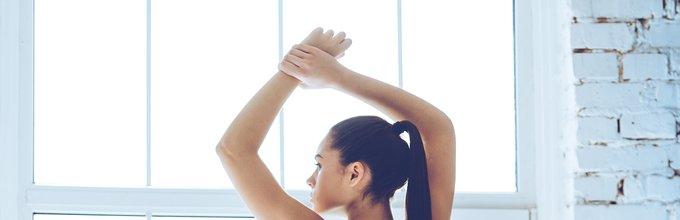 Ženska, ki telovadi - 4