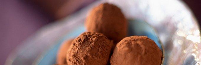 Čokoladni trufli z avokadom