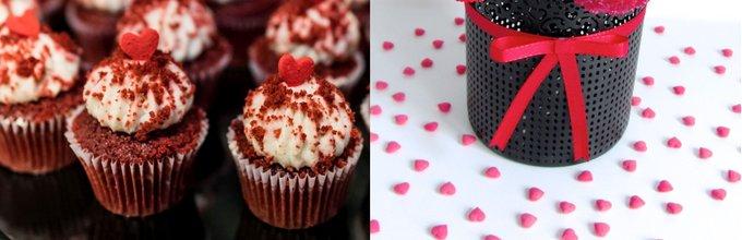 Valentinovo: cake popsi in red velvet mafini