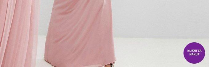 Obleke za družice v umazano roza odtenku - 5