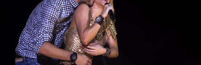 Shakira in Gerard Pique