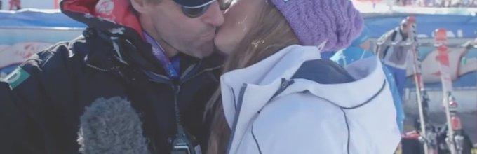Poljub Tine Maze in Massija