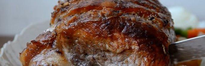 Pečen kare s krompirjem