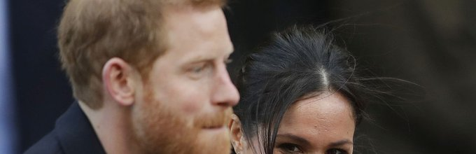 Harry in Meghan Markle v Cardiffu - 2