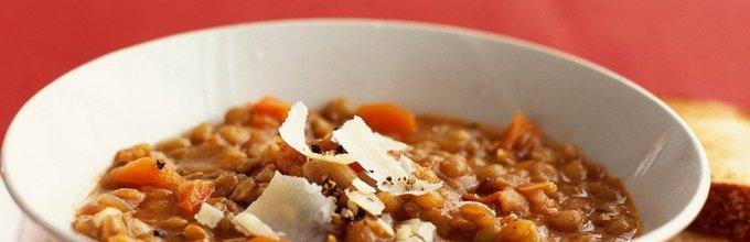 Lečna juha s korenčkom
