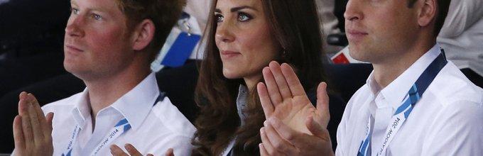 Kate Middleton, princ William, princ Harry - 4