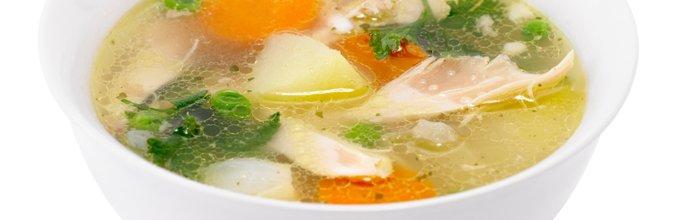 Domača kokošja juha