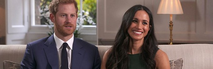 Harry in Meghan Markle med intervjujem