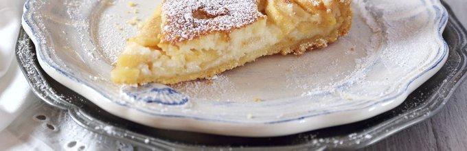 Jabolčna pita s kislo smetano