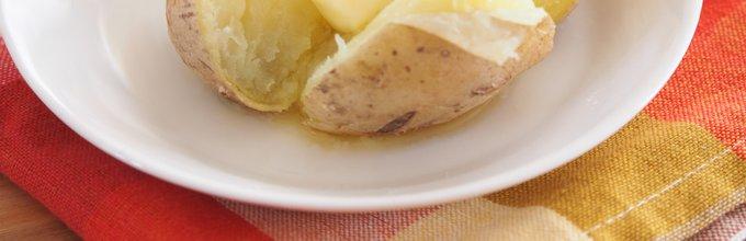 Krompir v oblicah z maslom