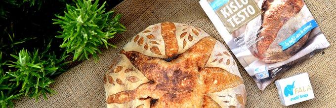 Pšenični kruh s koruzno moko