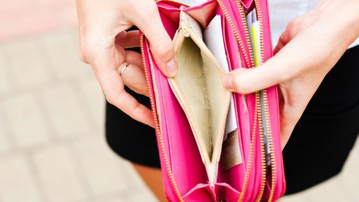 prazna denarnica