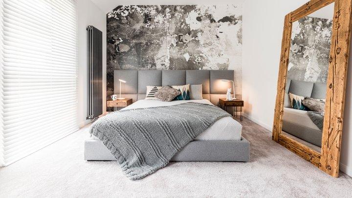 tako lahko popestrite prostor nad posteljo. Black Bedroom Furniture Sets. Home Design Ideas