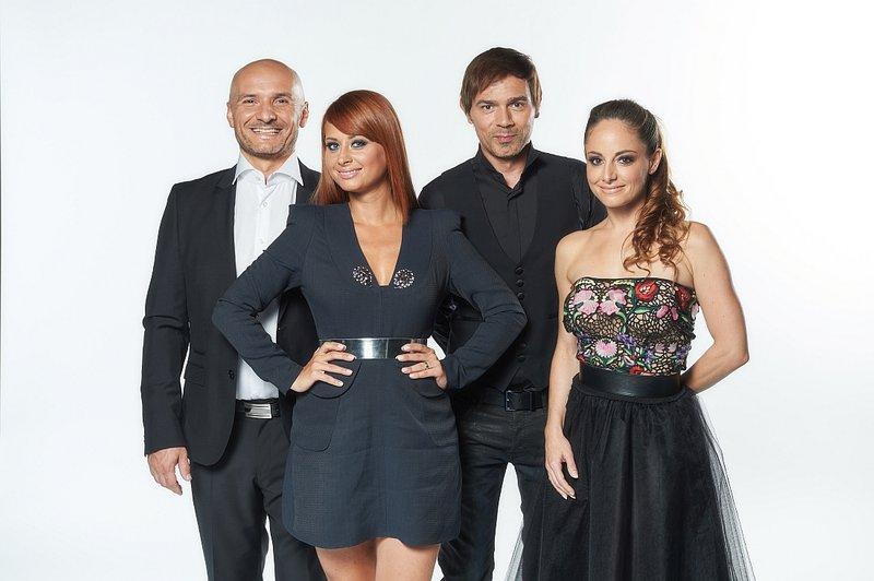Žiranti šova Slovenija ima talent tudi v novi sezoni ostajajo Branko Čakarmiš, Marjetka Vovk, Lado Bizovičar in Ana Klašnja.