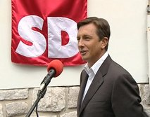 Borut Pahor - 110 let SD