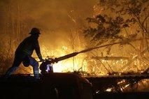 Gašenje gozdnega požara