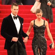 Tom Brady in Gisele Bundchen