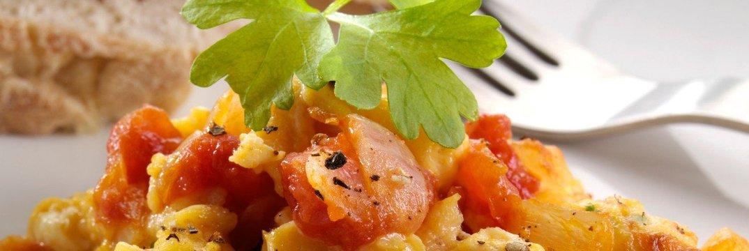 Umešana jajca po toskansko